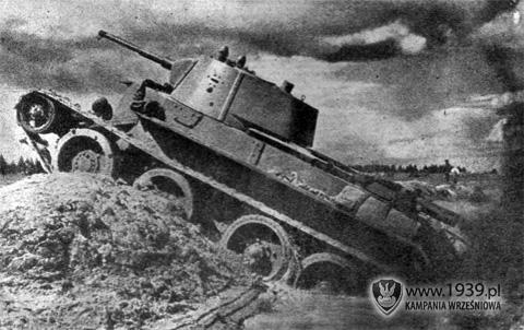 Czołg Szybki Bt 2 Bt 5 I Bt 7 Kampania Wrześniowa 1939 Pl