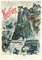 """Plakat """"Katyń"""""""